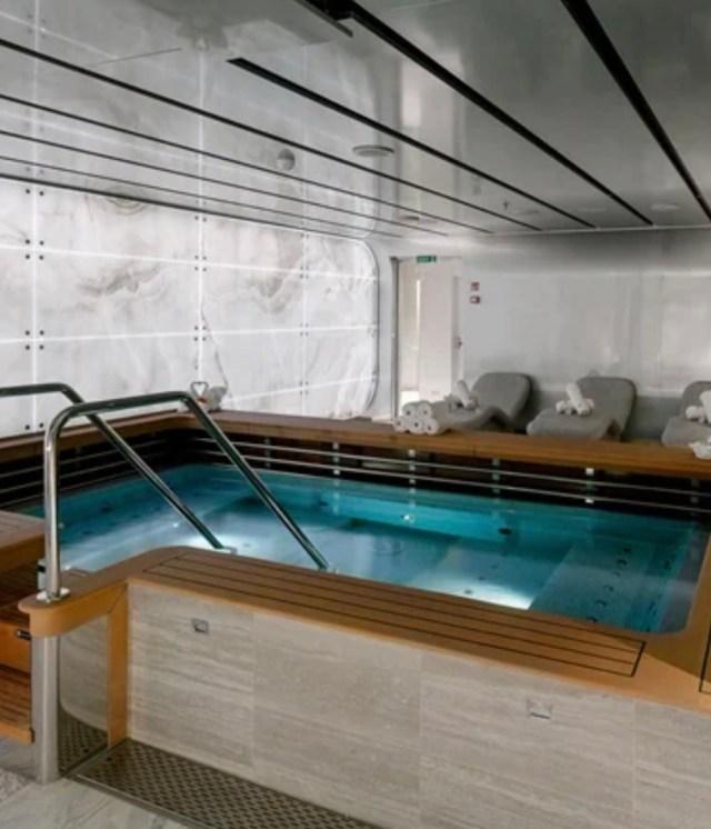 MSC Cruises seashore spa
