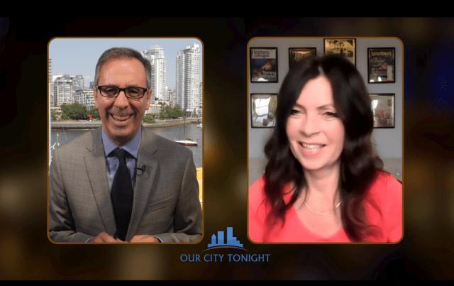 Cruiseguru Diane on Our City Tonight TV show cruising comeback