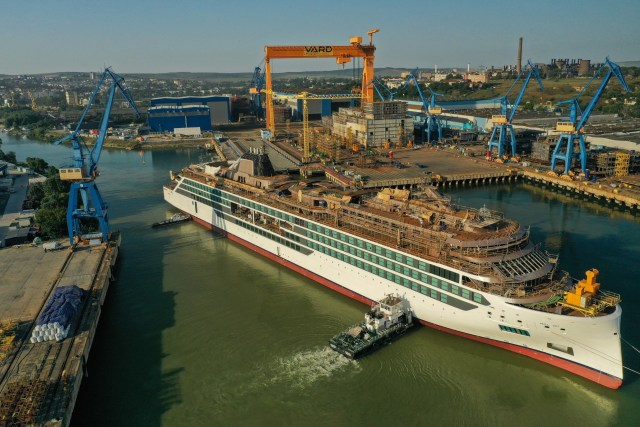 Viking Cruises floats out second expedition ship