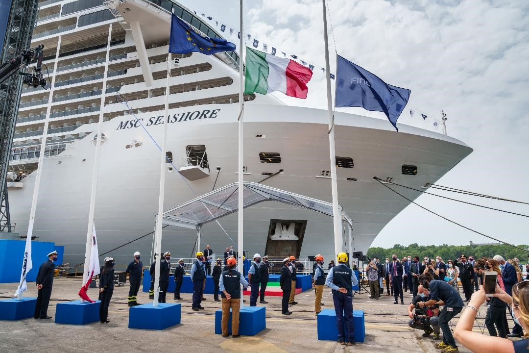 MSC Cruises Seashore will cruise the Mediterranean this summer and head to Miami in October