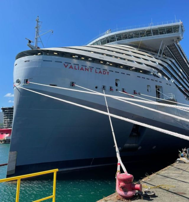 virgin voyages valiant lady docked