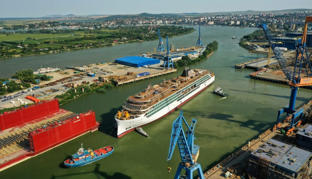 Viking Cruises Polaris expedition ship floated out