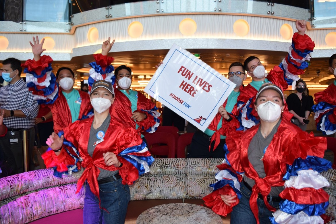 Carnival Mardi Gras cruises from Port Canaveral