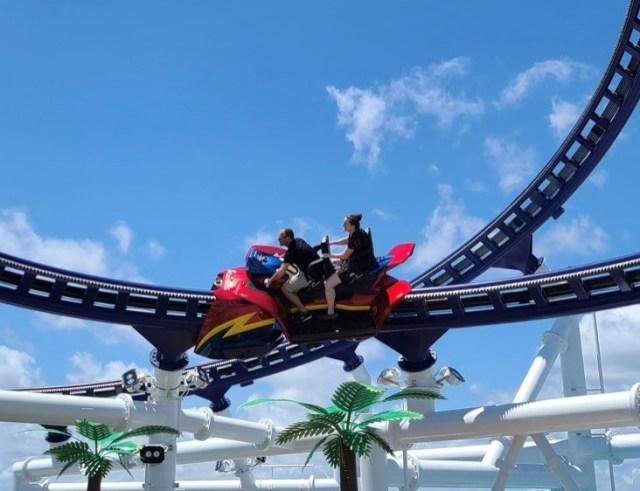 CarnivalMardiGras Rollercoaster Bolt Riders
