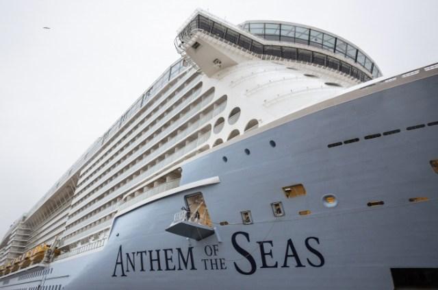 Royal Caribbean Anthem of the Seas Bridge