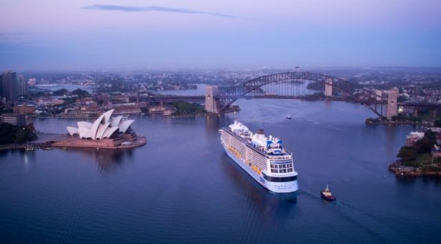 royal caribbean ovation of the seas australia