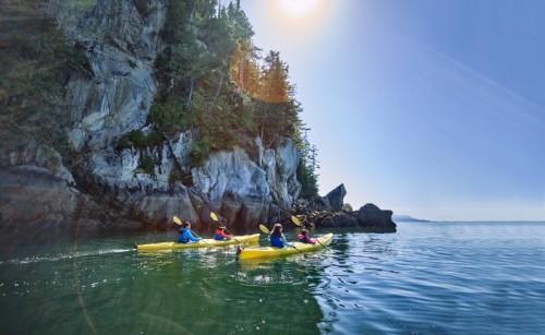 NCL cruises kayaking