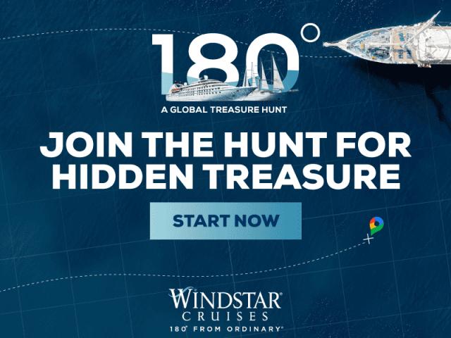 Windstar Cruises treasure hunt