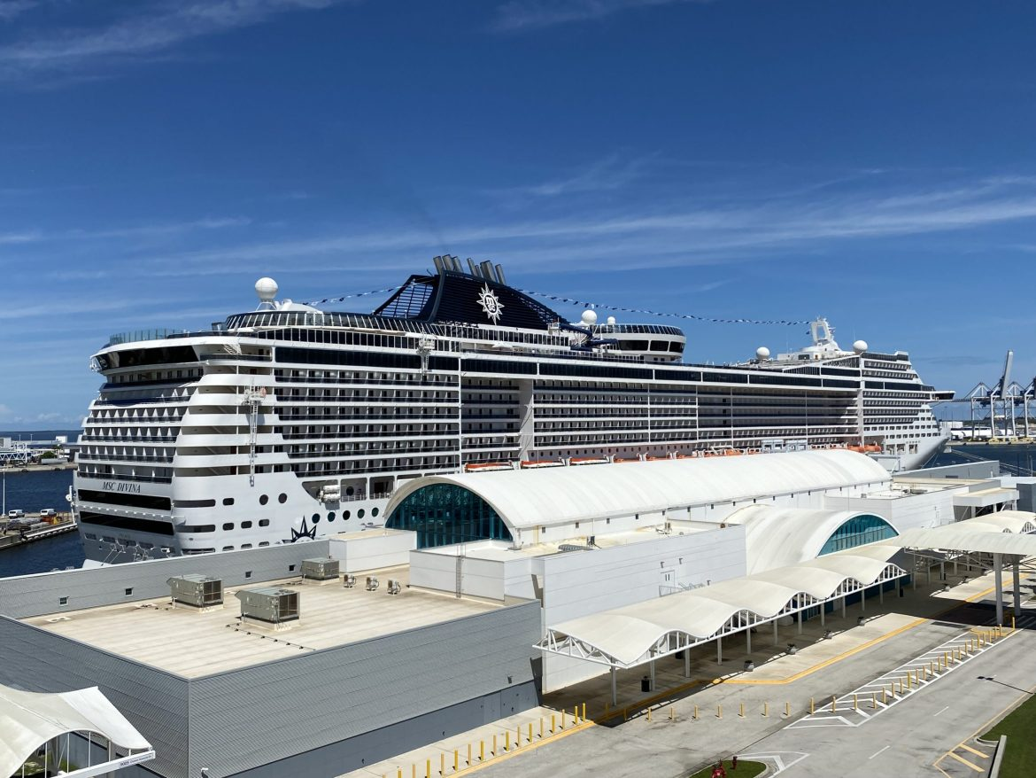 MSC Cruises Divina departed Port Canaveral for Bahamas