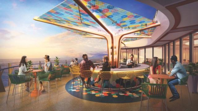 Royal Caribbean Wonder of the Seas Vue Bar