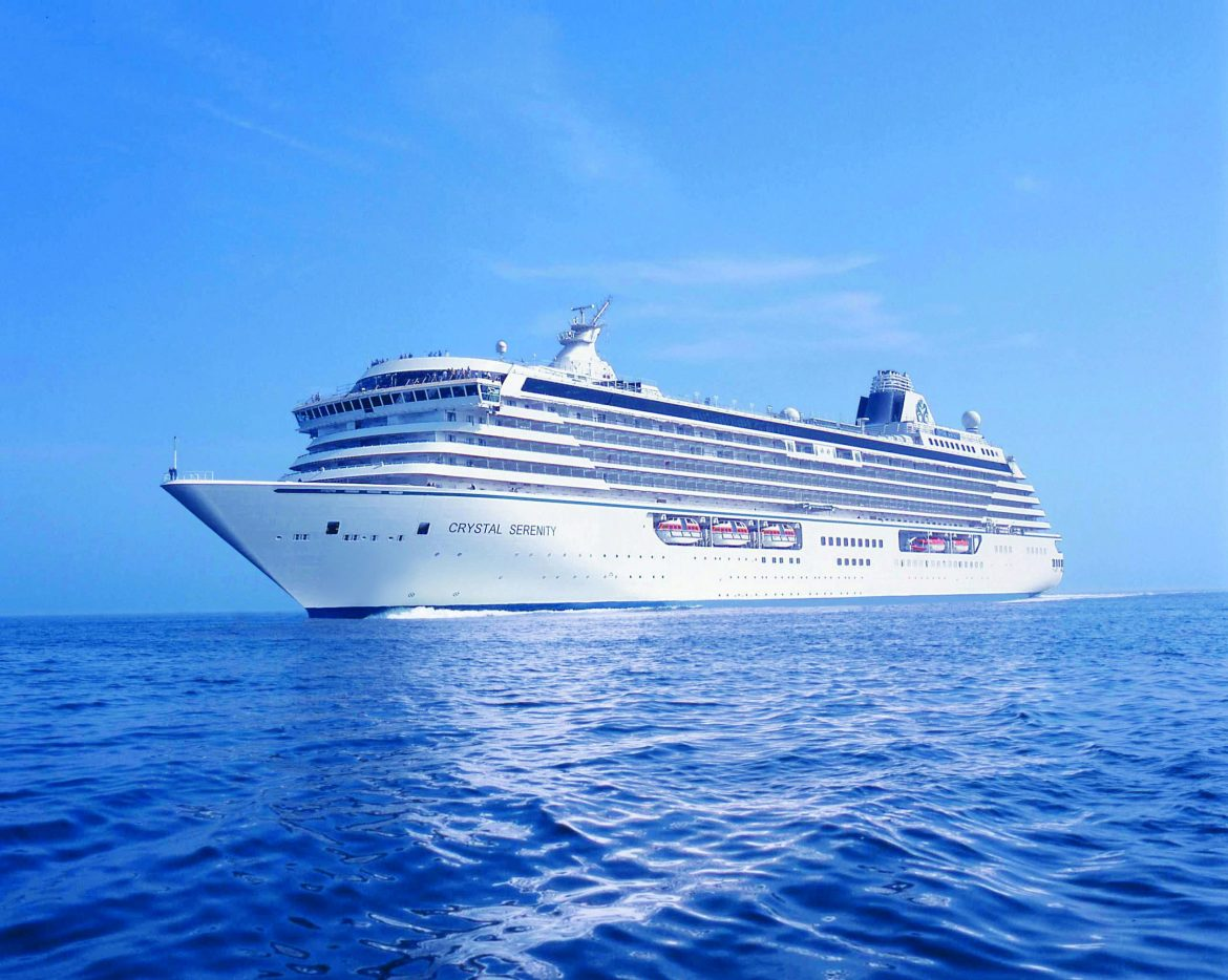 Crystal Cruises announced its 2024 World Cruise