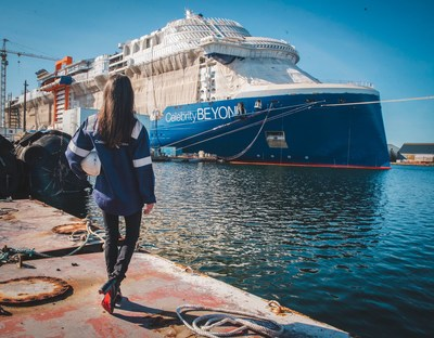 Captain Kate McCue will take the helm of Celebrity Cruises Celebrity Beyond