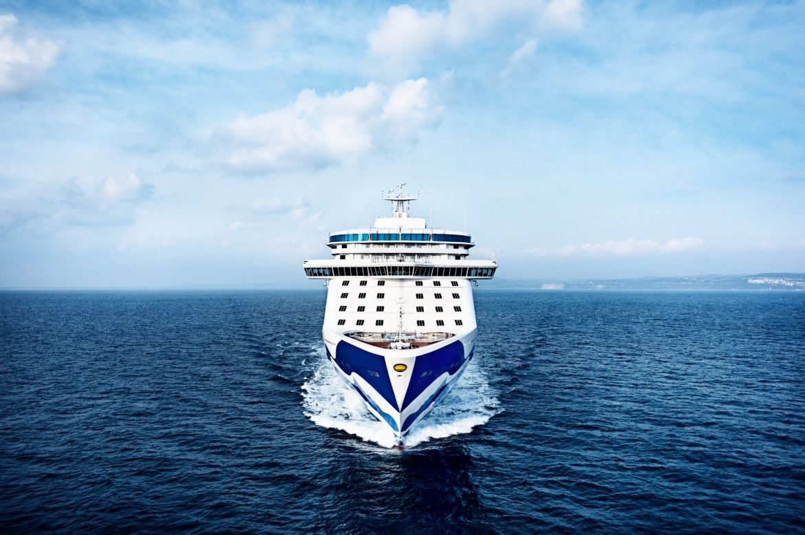 Princess Cruises celebrated the return to service of Majestic Princess at the Port of Los Angeles
