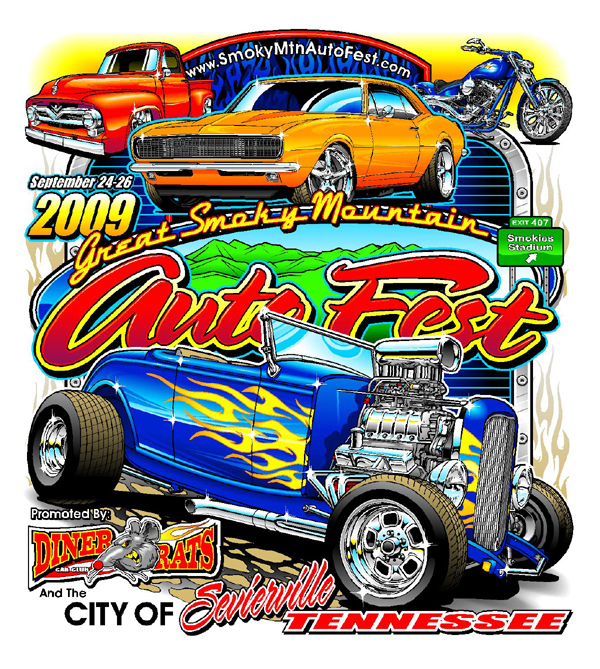 Official Events Tees Motorsport TShirts  Maryville Tennessee