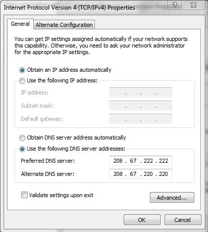 5 - Use Free Internet Using Simple DNS Hack
