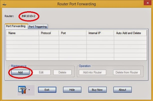 Router Port Forward - Hack Android Phones using AndroRat
