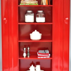 Metal Kitchen Cabinets For Sale Red Cherry Vintage Cabinet Officially Funk 39d