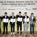Seven major entertainment companies have teamed up to establish a 'South Korean VEVO'