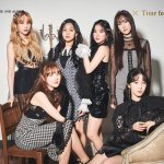 GFRIEND look classy in black in 'Midnight' concept photos for 'Time For Us'