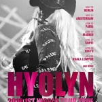 Hyolyn announces first solo world tour