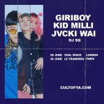 Indigo Music announce two dates for IMJM featuring GIRIBOY, KID MILLI, JVCKI WAI, DJ SQ