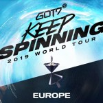 Ahgases!!!  GOT7 announce '2019 Keep Spinning World Tour' and Europe is included as well!