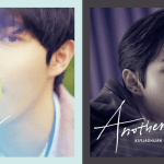 Kim Jaehwan shows you what duality is in cover images for 'Another'