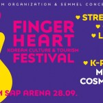 Show your love for Korea at the Finger Heart Festival