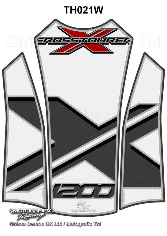 Honda VFR1200X Crosstourer 2012 13 14 White Motorcycle