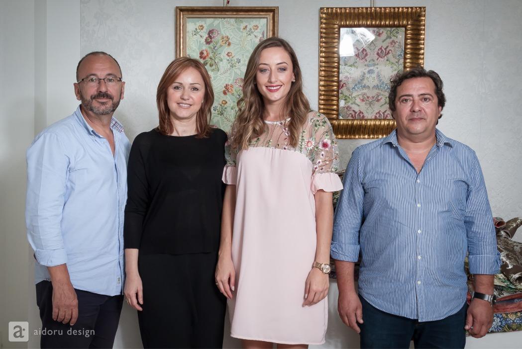 #Fallas18| Rocío Gil elige los colores del espolín Fallera Mayor de València