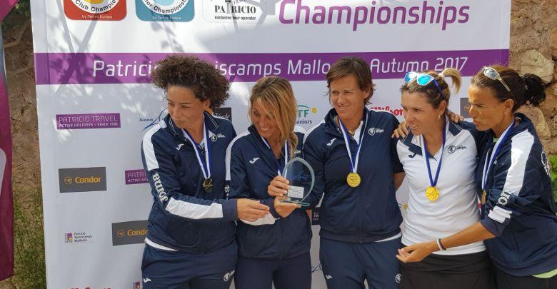Club Español Tenis campeonas Europa 1