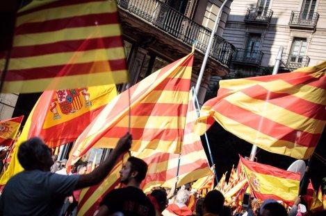 manifestación cataluña,