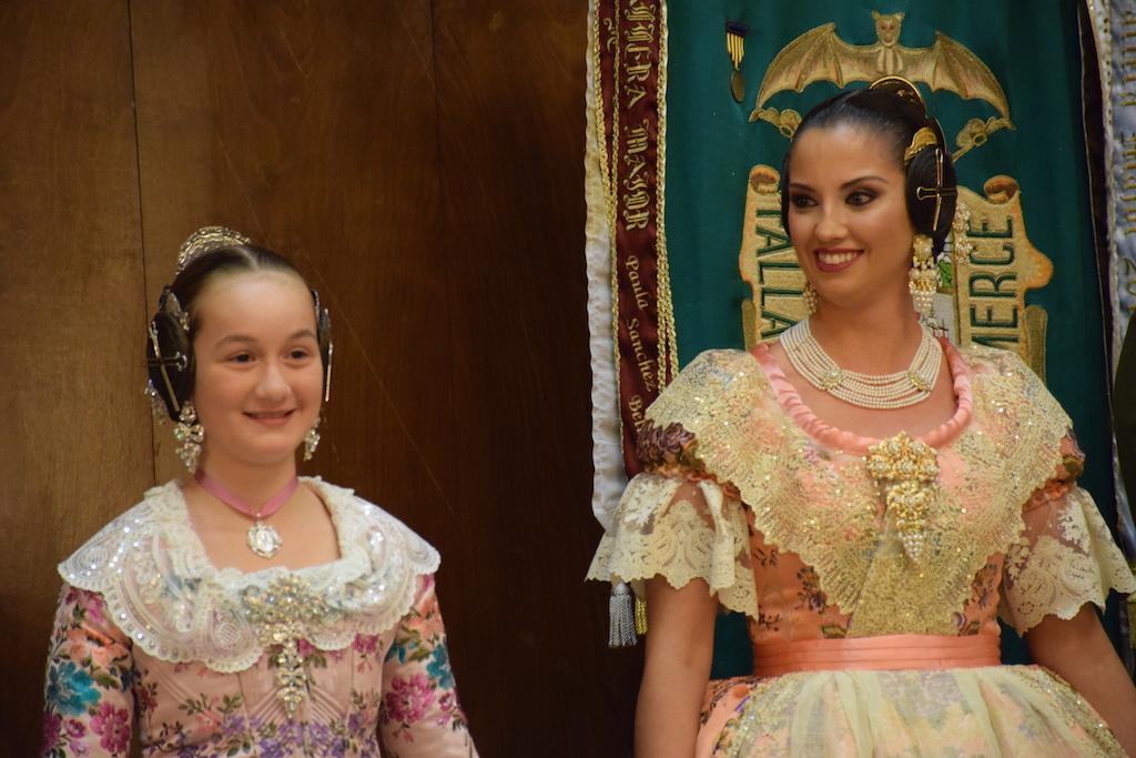 GALERÍA| Así fue la proclamación de las Falleras Mayores de la Plaza de la Merced