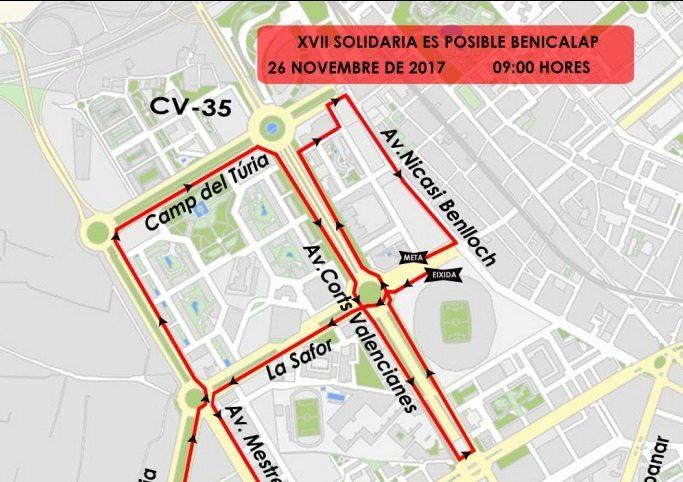 TRÁFICO| Estas son las calles cortadas este fin de semana en València