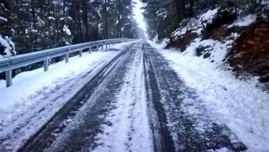 La nieve obliga al uso de cadenas en seis carreteras de la Comunitat Valenciana