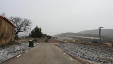 La nieve se deja ver en el interior de la provincia de Castellón y en València