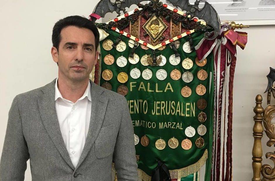 El empresario Francisco Segura, nuevo presidente de la falla Convento Jerusalén