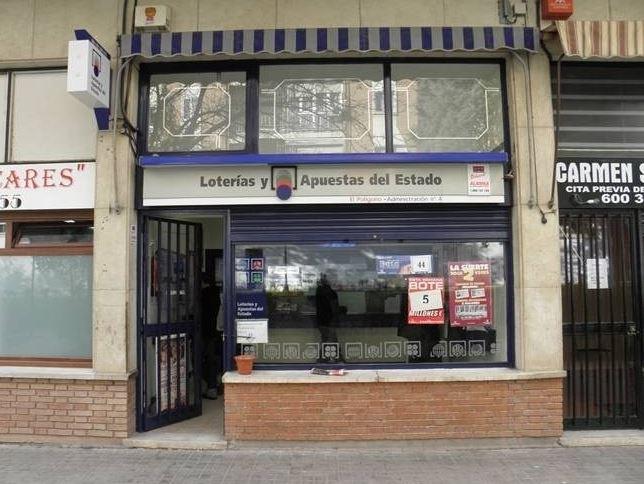Vendido en la Comunitat Valenciana el segundo premio de la Lotería Nacional