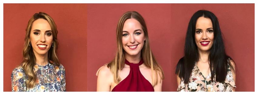 Así son Raquel, Paula y Marina candidatas a Fallera Mayor de València del sector Zaidia