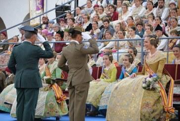 GALERÍA| Así ha sido el homenaje de las Fuerzas Armadas a las #Fallas17, por Artur Part