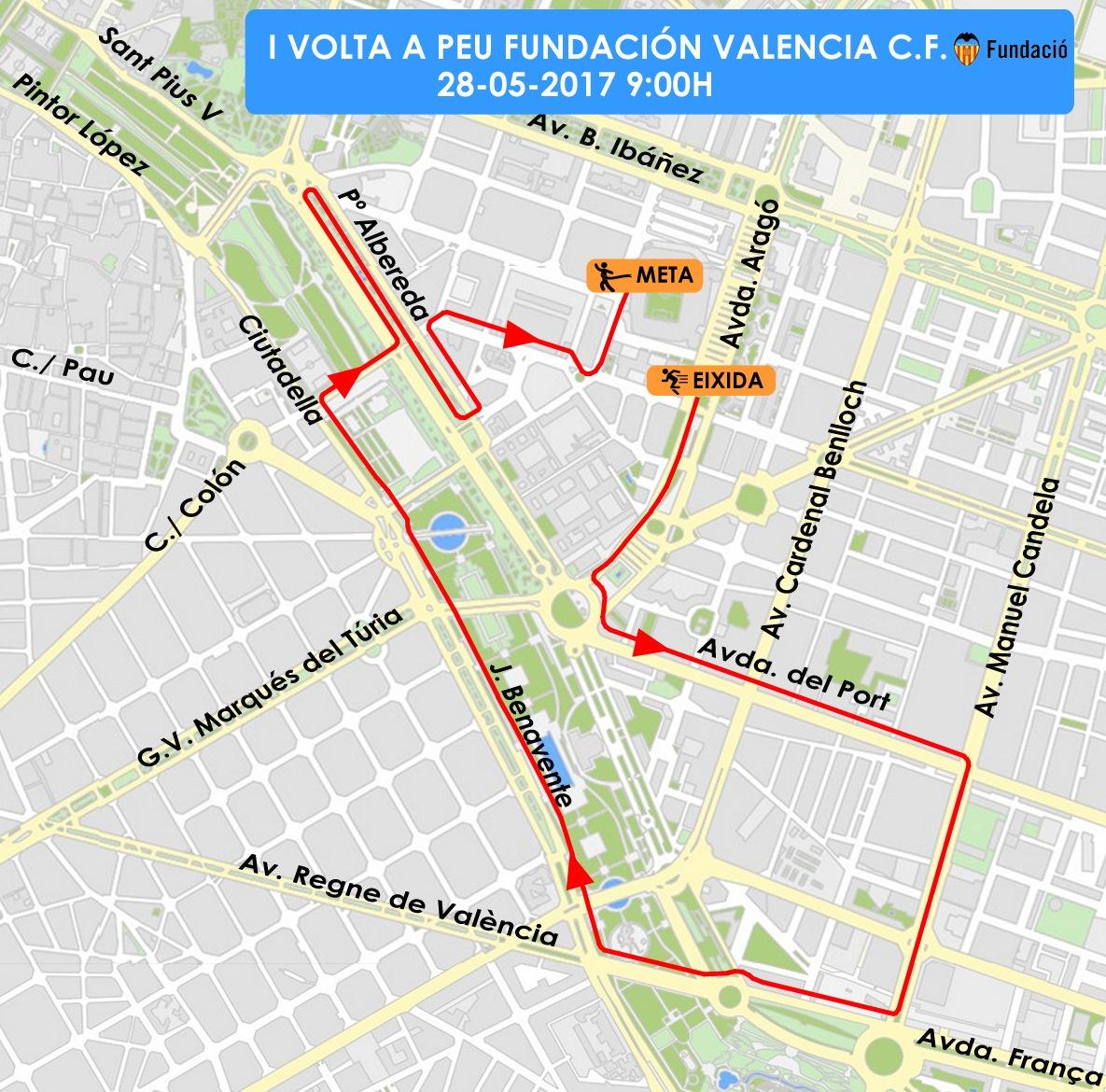 TRÁFICO| Éstas son las calles cortadas en València este domingo