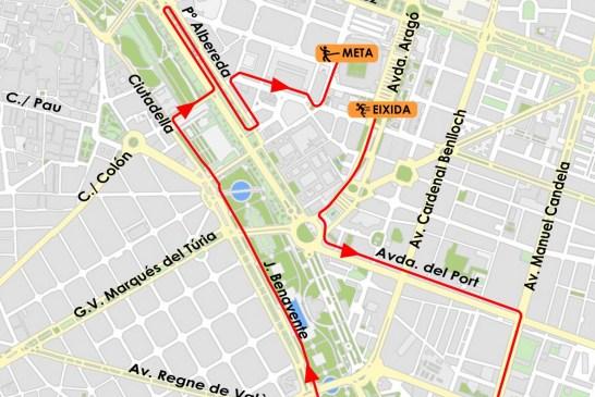 TRÁFICO  Éstas son las calles cortadas en València este domingo