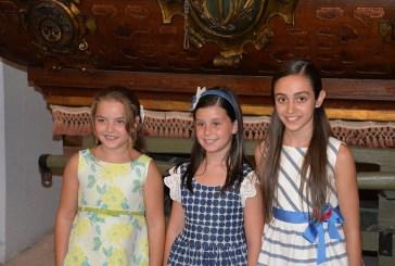 #Preseleccions18| Así son Marta, Lucía y Lola, las candidatas de Zaidía a Fallera Mayor Infantil de València