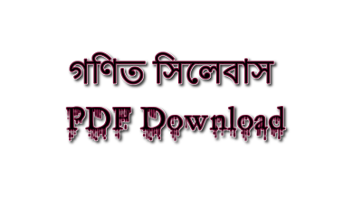 SSC Short Syllabus 2022 Math pdf Download
