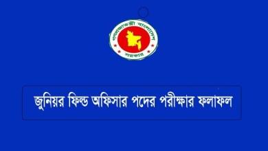 NSI Junior Field Officer Result 2021 PDF Download Link cnp.teletalk.com.bd