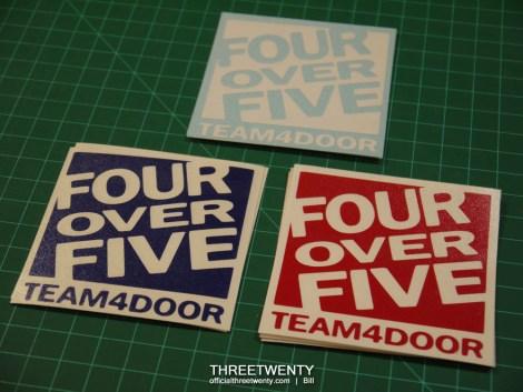 FourOverFive decals 1