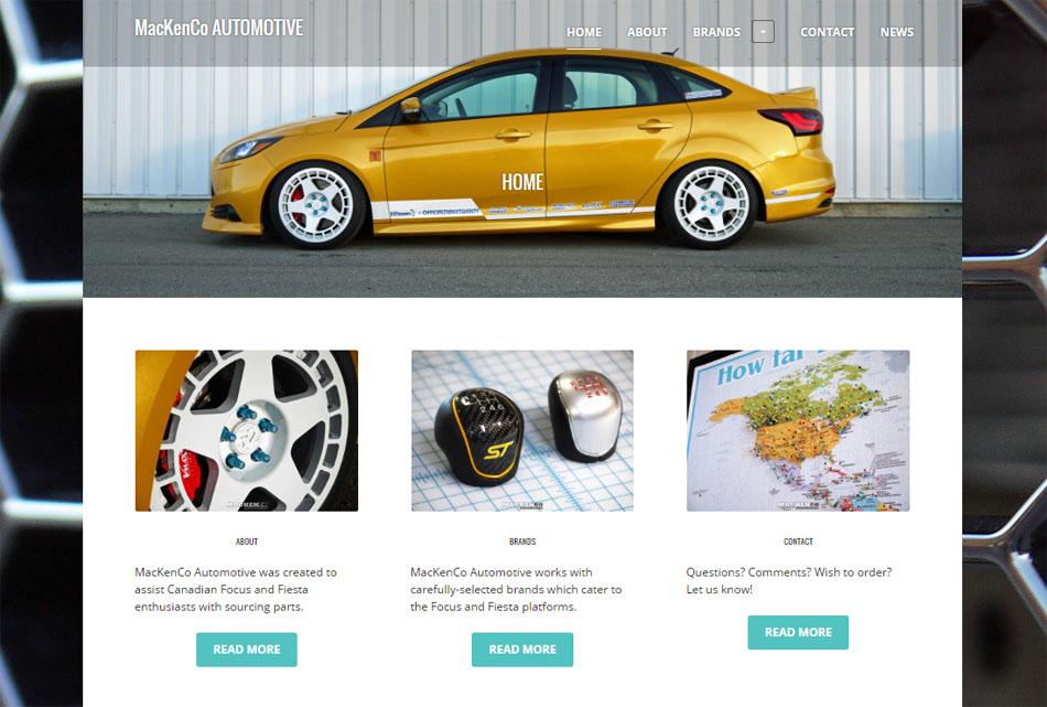 mackenco-automotive-webpage