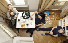 Luca Olimpio and friends Harpers Bazaar China http://fredericaranda.com