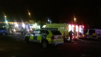 TWELVE PEOPLE TREATED AFTER CANISTER INCIDENT IN MCDONALDS 2