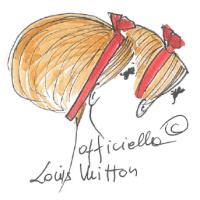 Louis Vuitton hair summer 2013 - fryzura lato 2013